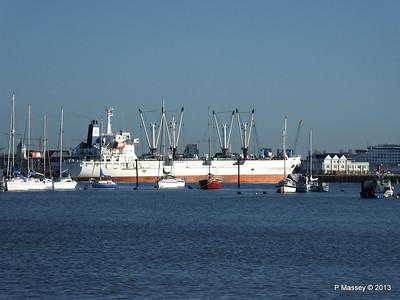 FRIO CHIKUMA Departing Southampton PDM 29-12-2013 12-49-26