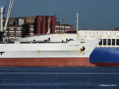 FRIO CHIKUMA Departs Southampton PDM 29-12-2013 12-45-56