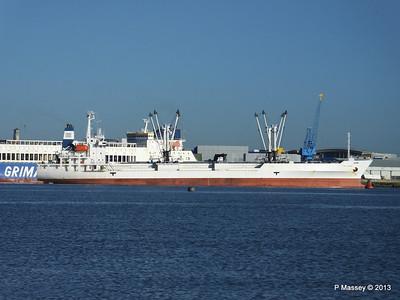 FRIO CHIKUMA Departs Southampton PDM 29-12-2013 12-47-04