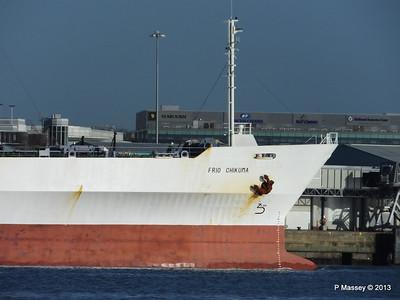 FRIO CHIKUMA Departing Southampton PDM 29-12-2013 12-47-21