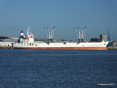 FRIO CHIKUMA Departing Southampton PDM 29-12-2013 12-47-47