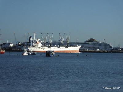 FRIO CHIKUMA Departing Southampton PDM 29-12-2013 12-49-53