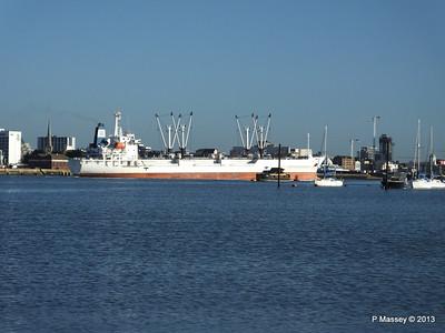 FRIO CHIKUMA Departing Southampton PDM 29-12-2013 12-48-36