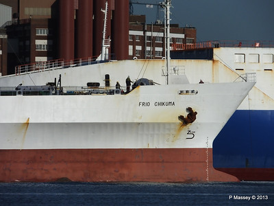 FRIO CHIKUMA Departs Southampton PDM 29-12-2013 12-45-54