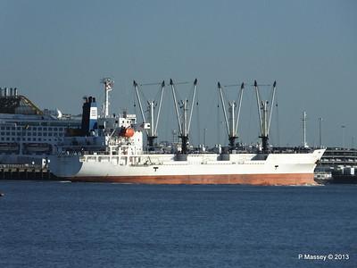 FRIO CHIKUMA Departing Southampton PDM 29-12-2013 12-50-35