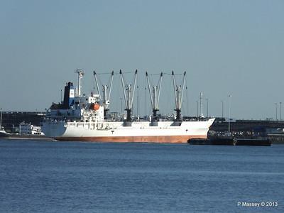FRIO CHIKUMA Departing Southampton PDM 29-12-2013 12-51-03