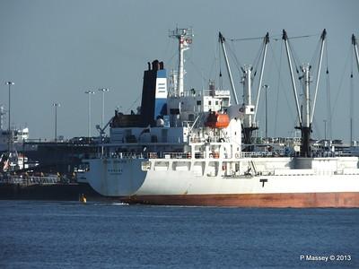 FRIO CHIKUMA Departing Southampton PDM 29-12-2013 12-50-54