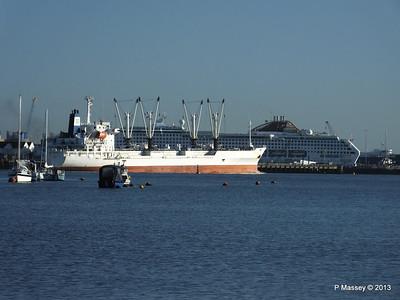 FRIO CHIKUMA Departing Southampton PDM 29-12-2013 12-49-58