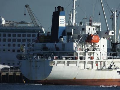 FRIO CHIKUMA Departing Southampton PDM 29-12-2013 12-50-38