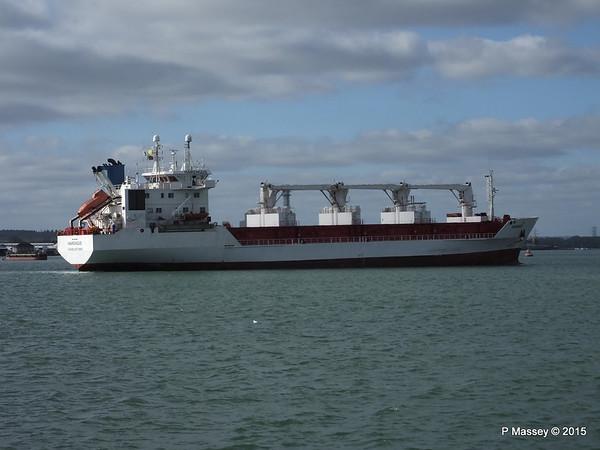 HARENGUS Inbound Southampton PDM 18-02-2015 12-59-01