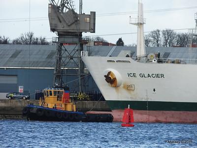15 Jan 2015 ICE GLACIER Outbound Southampton