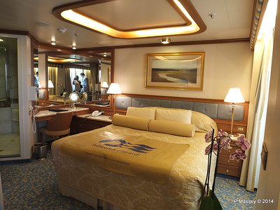 Cabins - Staterooms RUBY PRINCESS 15 August 2014