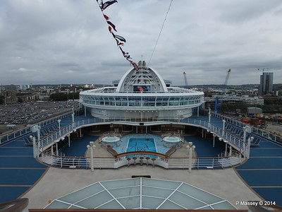 RUBY PRINCESS Southampton 15 Aug 2014