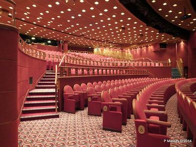 Princess Theater RUBY PRINCESS 15 Aug 2014
