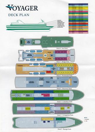 VOYAGER Deck Plan 2013