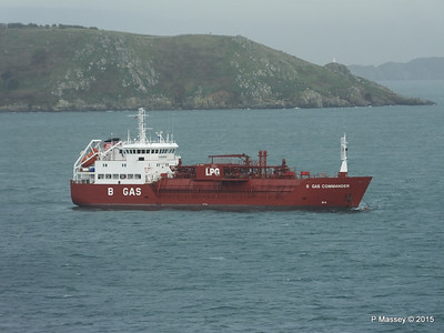 B GAS COMMANDER IMO 9112155