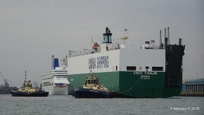CSCC TIANJIN Arriving ORIANA Southampton PDM 24-09-2016 15-01-34
