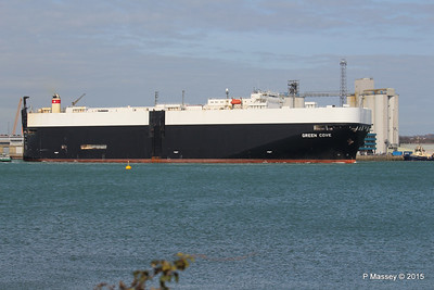 GREEN COVE Departing Southampton PDM 12-04-2015 15-19-19