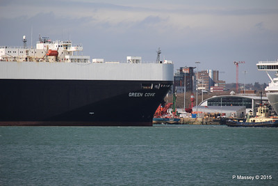 GREEN COVE Departing Southampton PDM 12-04-2015 15-11-10