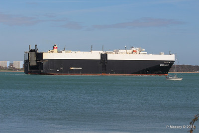 GREEN COVE Departing Southampton PDM 12-04-2015 15-21-23