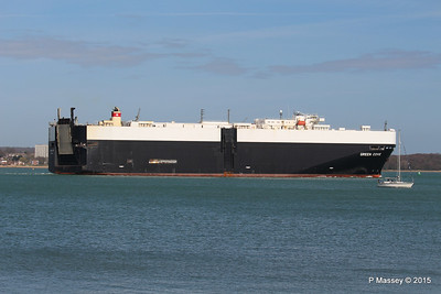 GREEN COVE Departing Southampton PDM 12-04-2015 15-21-15