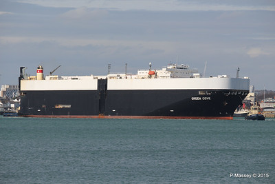 GREEN COVE Departing Southampton PDM 12-04-2015 15-12-58