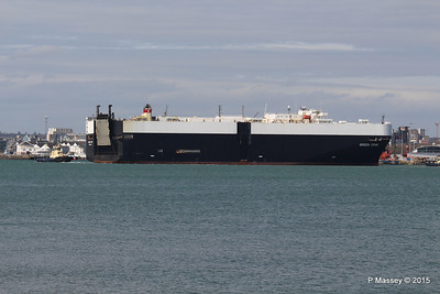 GREEN COVE Departing Southampton PDM 12-04-2015 15-11-18