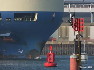 MORNING LILY Departing Southampton PDM 18-03-2015 16-27-050