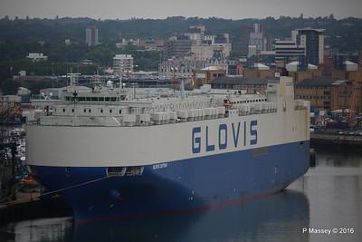 17 Jul 2016 GLOVIS CAPTAIN Alongside Southampton