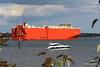 GLOVIS COUGAR Departing Southampton PDM 29-08-2016 17-16-00