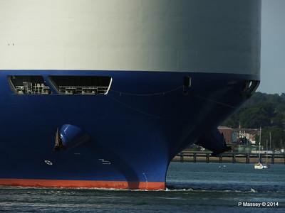 GLOVIS SPIRIT Departing Southampton PDM 22-07-2014 18-10-49