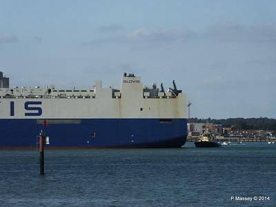 GLOVIS SPIRIT Departing Southampton PDM 22-07-2014 18-06-58