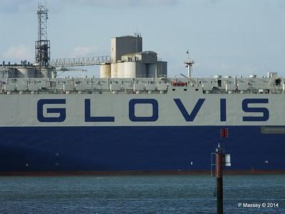 GLOVIS SPIRIT Departing Southampton PDM 22-07-2014 18-07-10