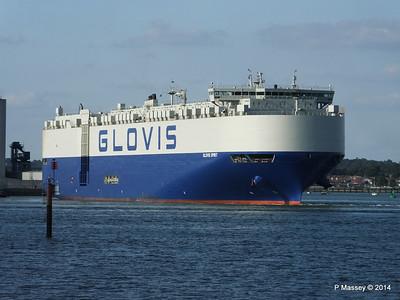 GLOVIS SPIRIT Departing Southampton PDM 22-07-2014 18-10-40