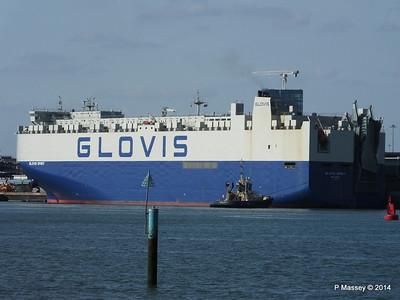 GLOVIS SPIRIT Departing Southampton PDM 22-07-2014 17-59-21