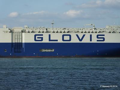 GLOVIS SPIRIT Departing Southampton PDM 22-07-2014 18-13-57