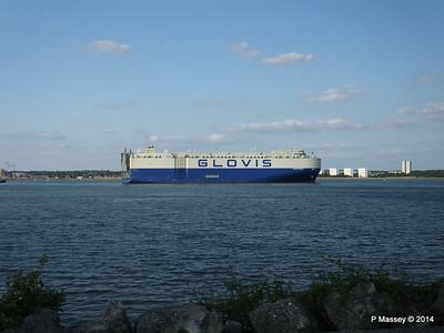GLOVIS SPIRIT Departing Southampton PDM 22-07-2014 18-14-08