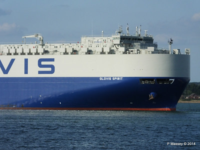 GLOVIS SPIRIT Departing Southampton PDM 22-07-2014 18-12-21