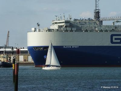 GLOVIS SPIRIT Departing Southampton PDM 22-07-2014 18-07-20