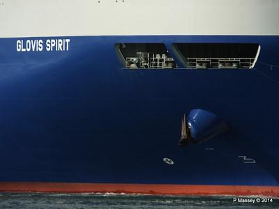 GLOVIS SPIRIT Departing Southampton PDM 22-07-2014 18-10-54