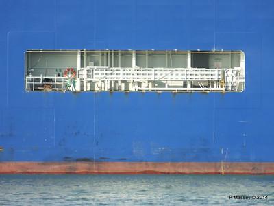 GLOVIS SPIRIT Departing Southampton PDM 22-07-2014 18-13-37