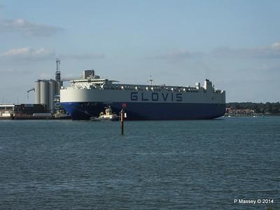 GLOVIS SPIRIT Departing Southampton PDM 22-07-2014 18-08-23