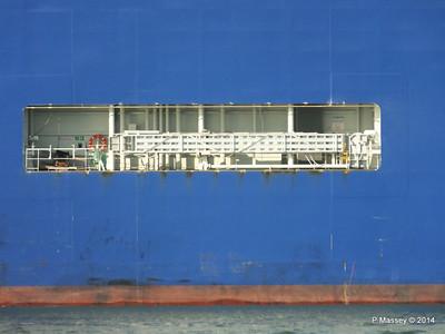 GLOVIS SPIRIT Departing Southampton PDM 22-07-2014 18-13-34