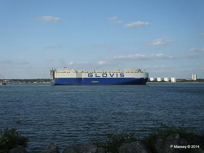 GLOVIS SPIRIT Departing Southampton PDM 22-07-2014 18-14-03