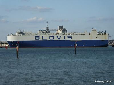 GLOVIS SPIRIT Departing Southampton PDM 22-07-2014 18-06-53