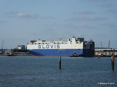 GLOVIS SPIRIT Departing Southampton PDM 22-07-2014 18-02-58