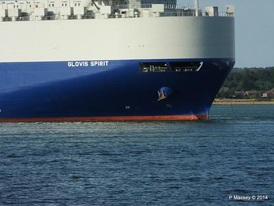 GLOVIS SPIRIT Departing Southampton PDM 22-07-2014 18-12-14