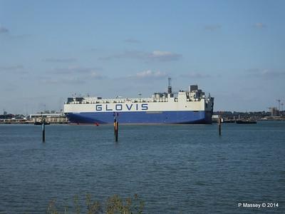GLOVIS SPIRIT Departing Southampton PDM 22-07-2014 18-06-01