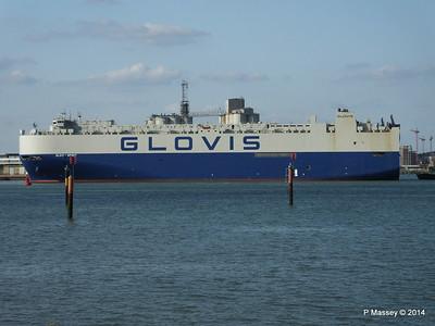 GLOVIS SPIRIT Departing Southampton PDM 22-07-2014 18-06-46