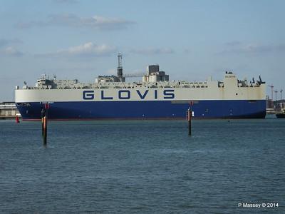 GLOVIS SPIRIT Departing Southampton PDM 22-07-2014 18-06-49